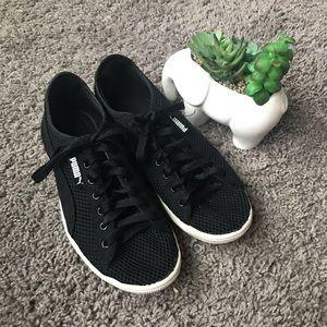 d84d72790cd Womens Vikky Mesh FM Sneakers Black 7
